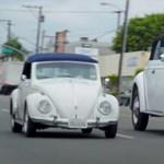 Teherautó méretű óriás VW Bogarat építettek