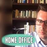 """Vitézy Dávid a Home office-ban: """"Négyzetméterek milliói fognak átvándorolni irodából lakássá"""""""