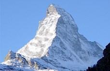 Lezuhant két hegymászó a svájci Alpokban, mindketten életüket vesztették
