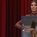 Kim Kardashiant kiverte a frász, mikor eltakart tárgyakat kellett tapogatnia a tévében – videó