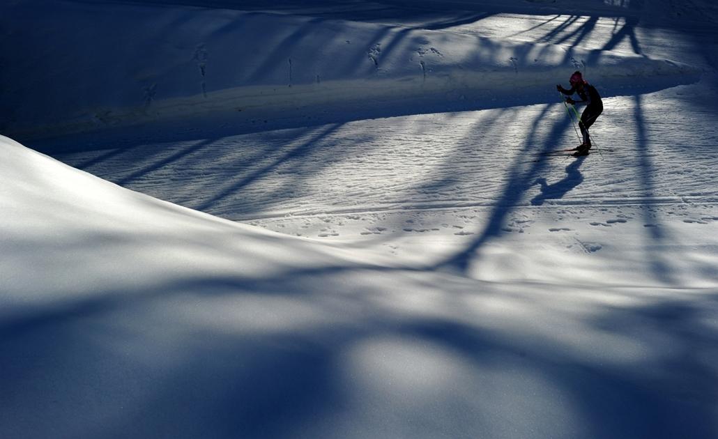 2012. február 29. - Ruhpolding, Németország: versenyző a 2012-es Biatlon Világbajnokság egyik szabadedzésén.  - évsportképei