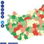 Ezekben a térségekben követik el a legtöbb bűncselekményt - térkép