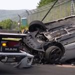 Videó: Jókorát szaltózott ez a VW Scirocco a Nürburging nyílt napján